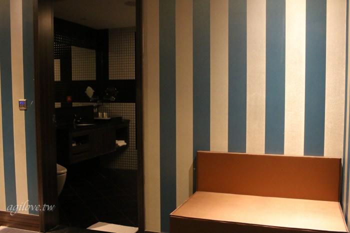 水雲端旗艦概念旅館-商務房型房間內的行李架