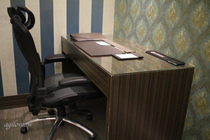 水雲端旗艦概念旅館-商務房型辦公桌和人體工學椅