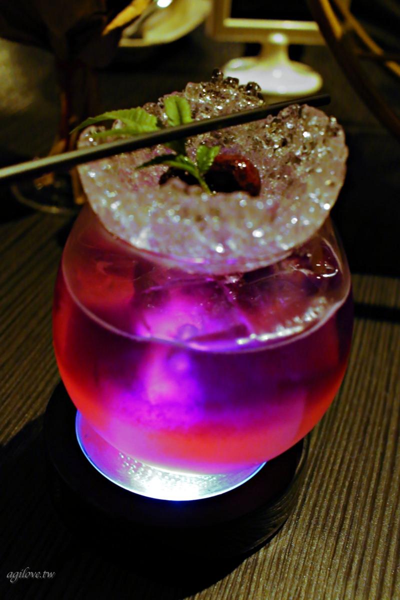 Elfin特調:六克拉Butterfly Pea Cocktail