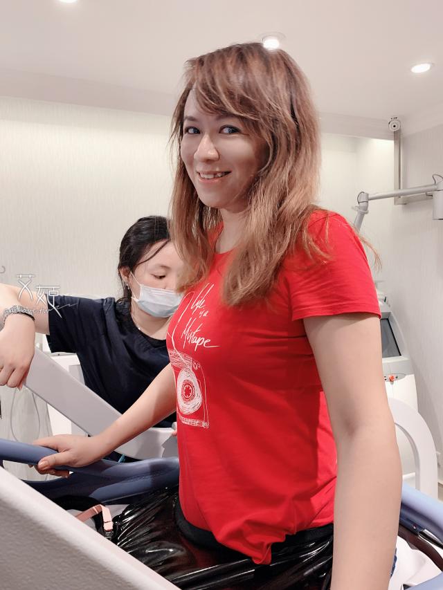 艾姬體驗全身冷凍治療-名杏診所