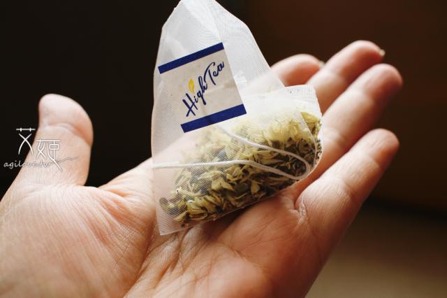 High Tea三角立體茶包,給人一種品味時尚感。